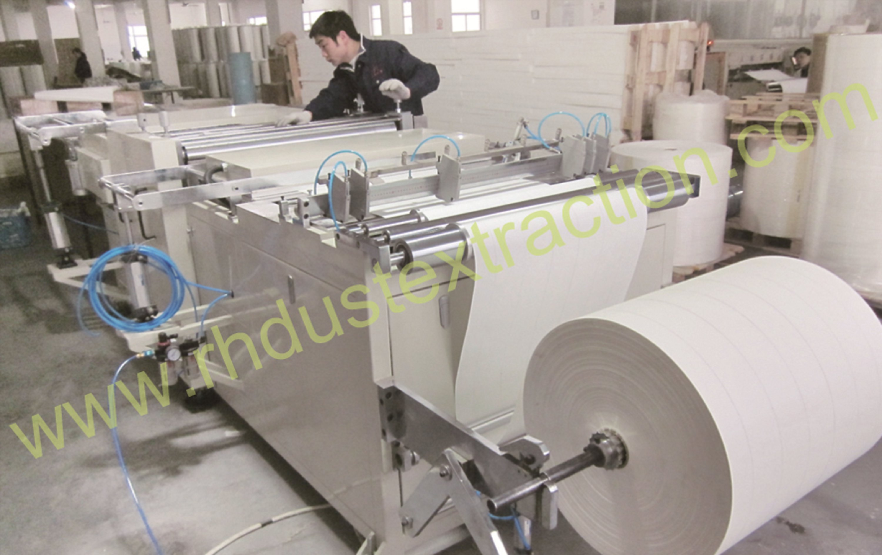 Filter Media Pleating machine2